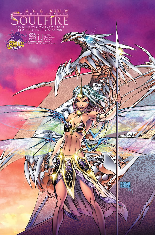 Aspen Comics Exclusives For Stan Lee's Comikaze 2013