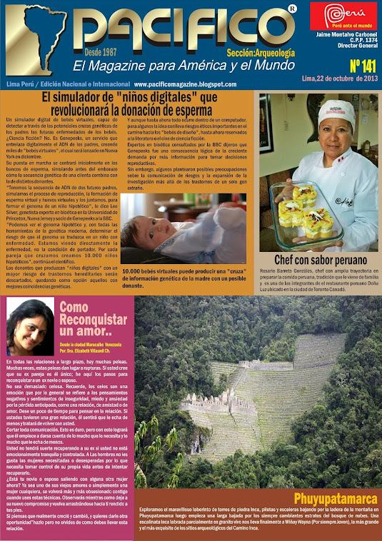 Revista Pacífico Nº 141 Arqueología
