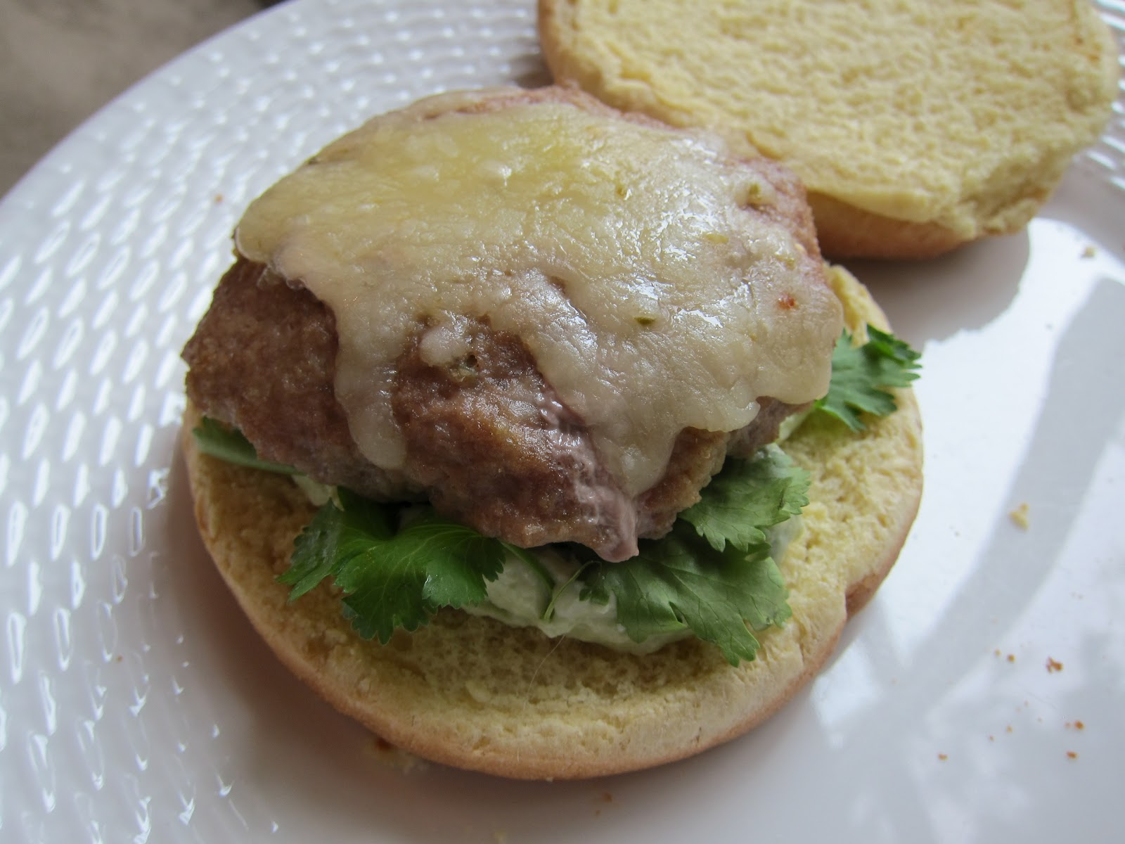 Bites: Salsa Verde Turkey Burgers