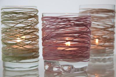Luci natalizie con riciclo creativo bicchieri di ogni forma