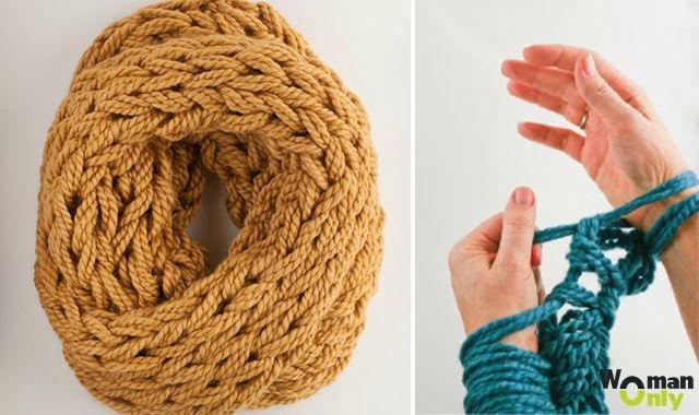 Из каких ниток лучше связать шарф - вЯзание длЯ детей.