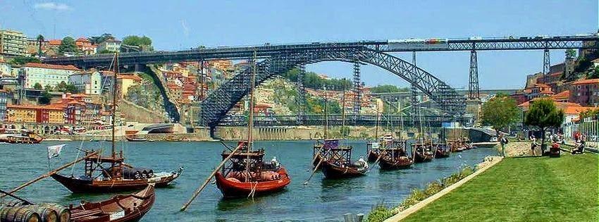 Couverture facebook portugal paysage