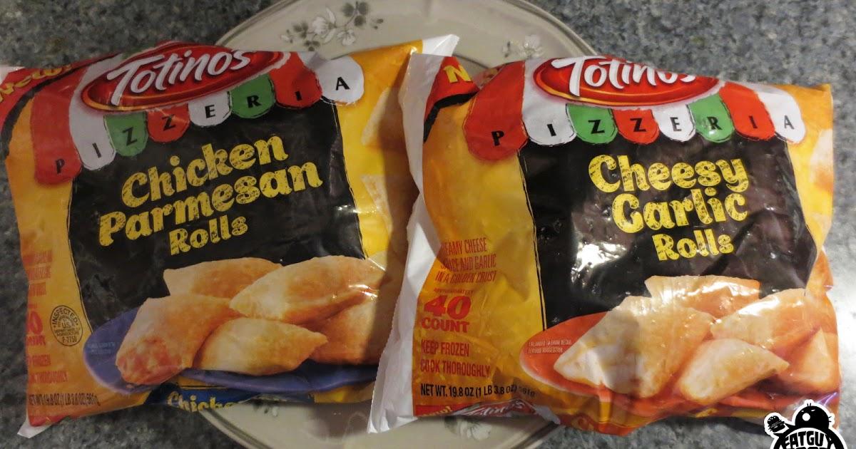 Fatguyfoodblog Totinos New Pizzeria Line Cheesy Garlic Chicken