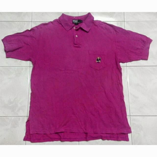 Clayback bush thrift store polo shirt vintage polo bear for What stores sell polo shirts