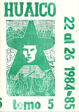 TOMO 5. Nros. 22 al 26. San Salvador de Jujuy. 1990 (28,5 x 20 cm)