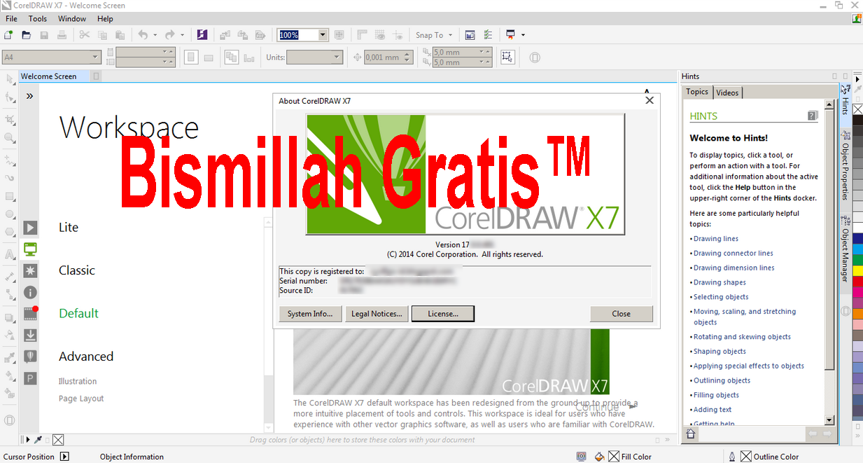 CorelDraw Graphics Suite X3 Free Download
