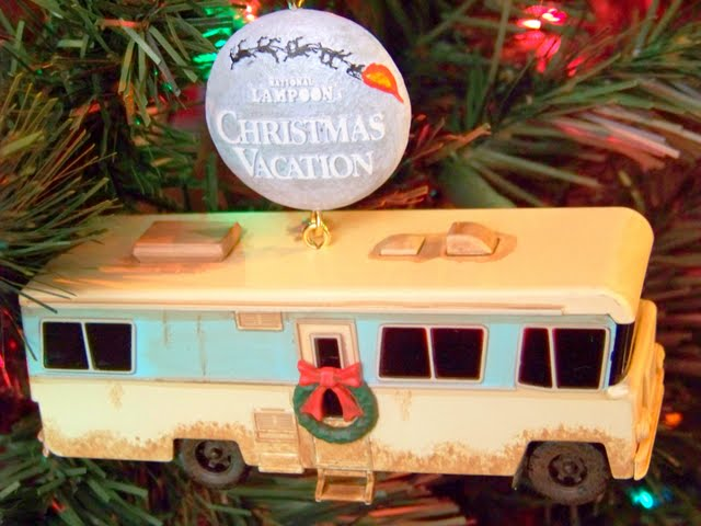 it wouldnt be christmas around our house without watching the lampoons christmas vacation at least once this ornament of cousin eddies rv was a gift