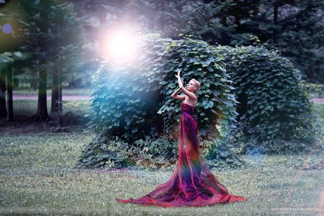 мистическая красивая фотосессия