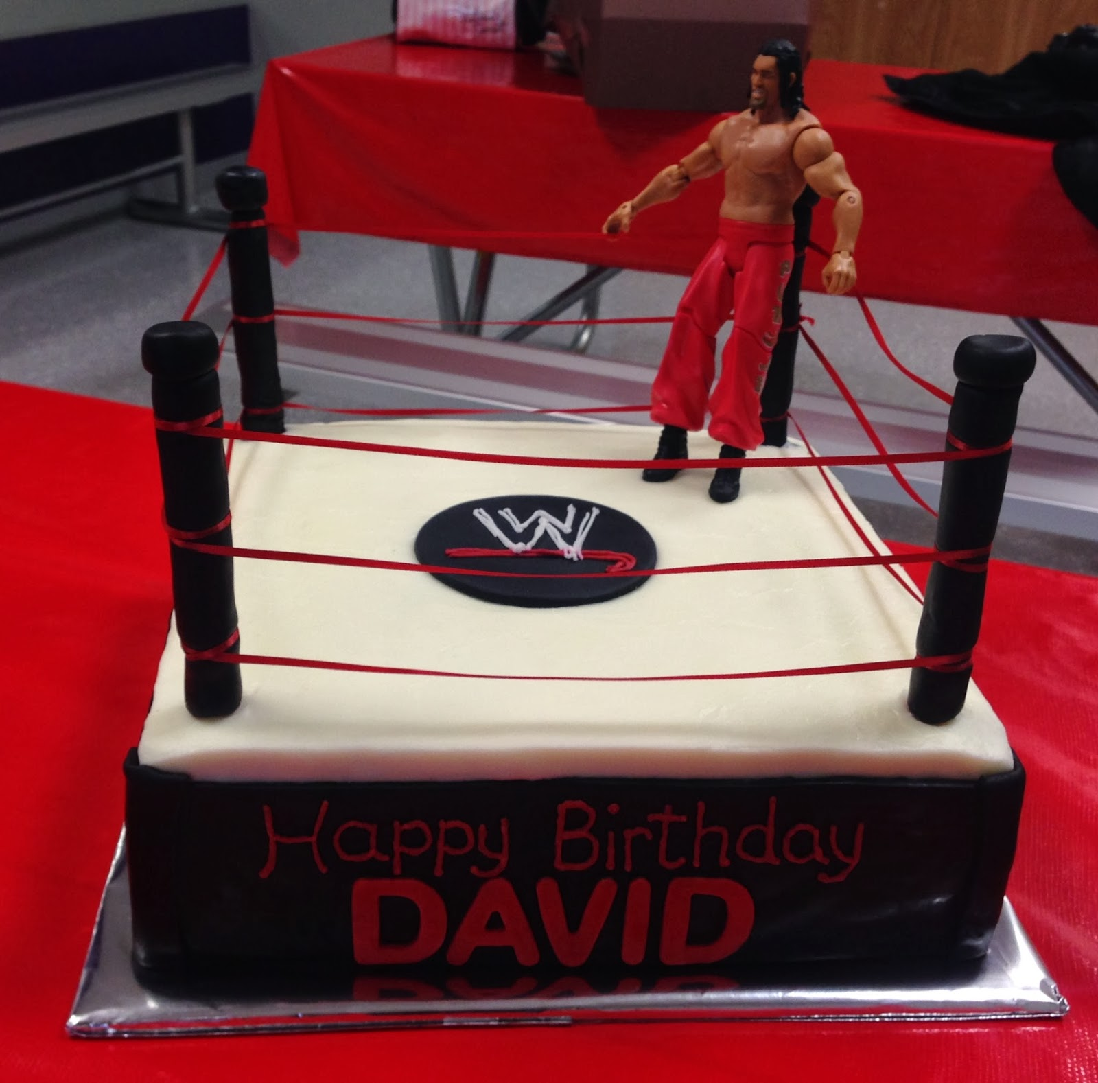 Cakes By Mindy Wwe Wresting Cake 12