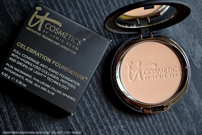 It Cosmetics 5 Piece Antiaging Color Collection QVC Exclusive Indian Beauty Makeup Blog Photos Reviews celebration Foundation