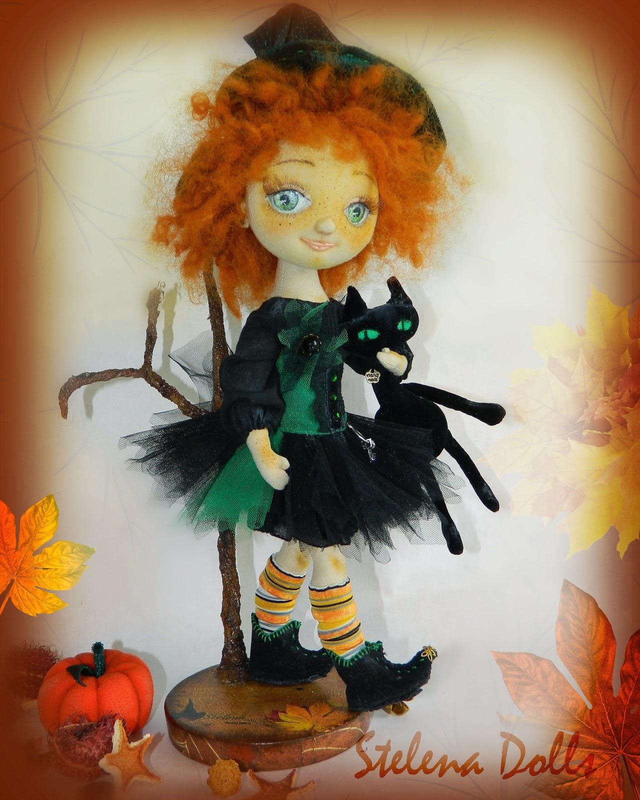 ведьма-кукла