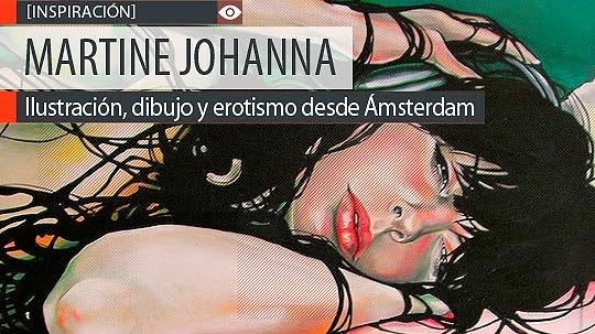 Ilustración, dibujo y erotismo de MARTINE JOHANNA