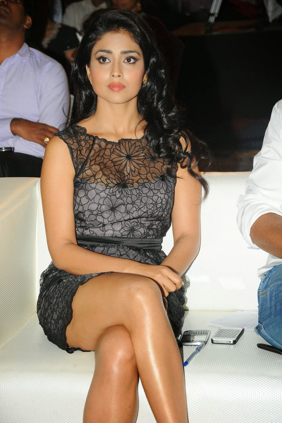 Shriya Saran  In Transparent Dress