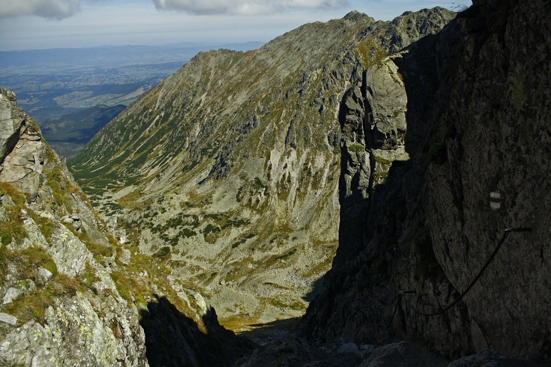 Widok z Granackiej Przełęczy