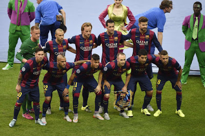 FC BARCELONA TEAM PHOTO