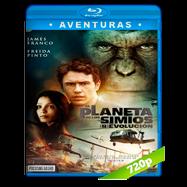 El planeta de los simios: Revolución (2011) BRRip 720p Audio Dual Latino-Ingles