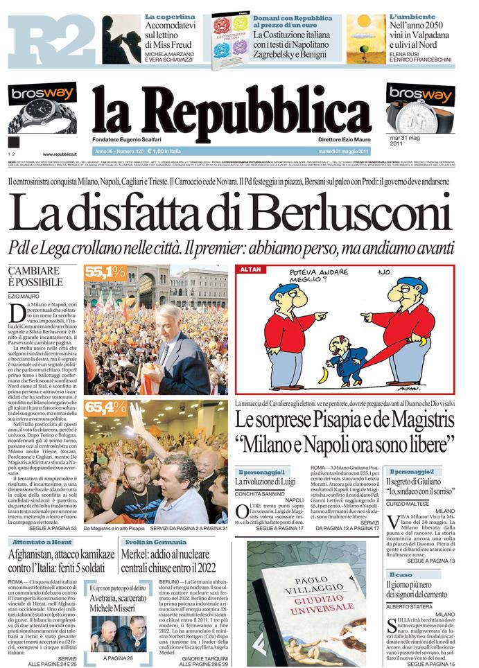 Pazzo Per Repubblica Il Blog Dei Feticisti Di Repubblica Maggio 2011