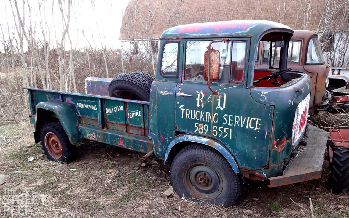 The Street Peep Willys Jeep Forward Control Stockpile