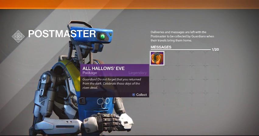 Sorpresa de Halloween en nueva actualización de Destiny