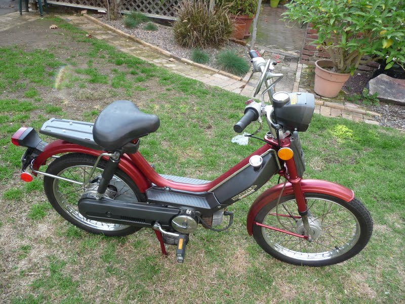 Riot Why Not Honda Hobbit Ii Moped