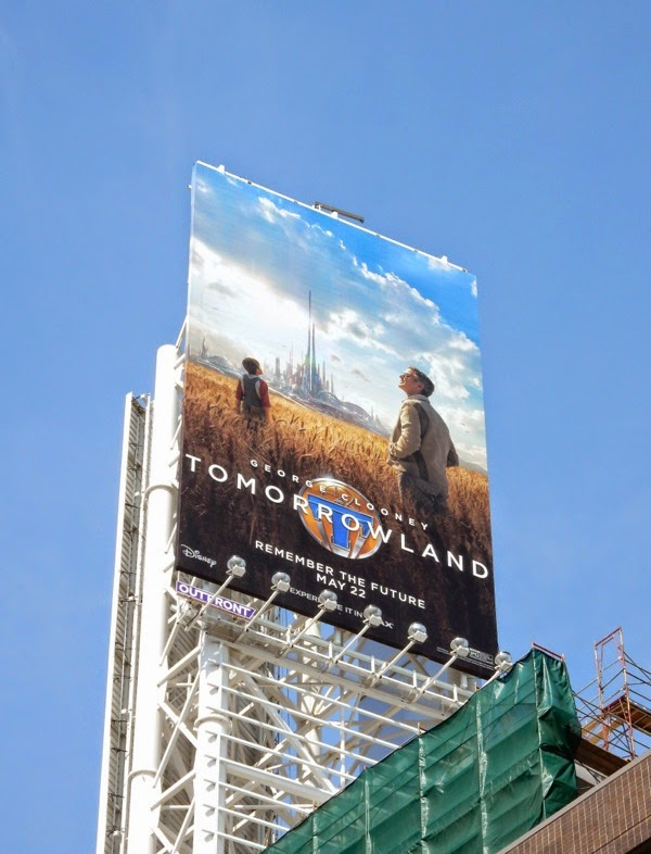 Tomorrowland movie billboard