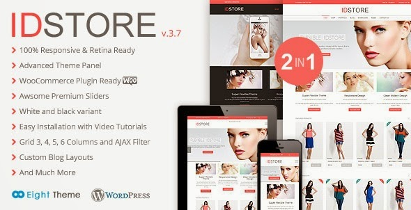 IDStore Responsive Multi-Purpose Ecommerce