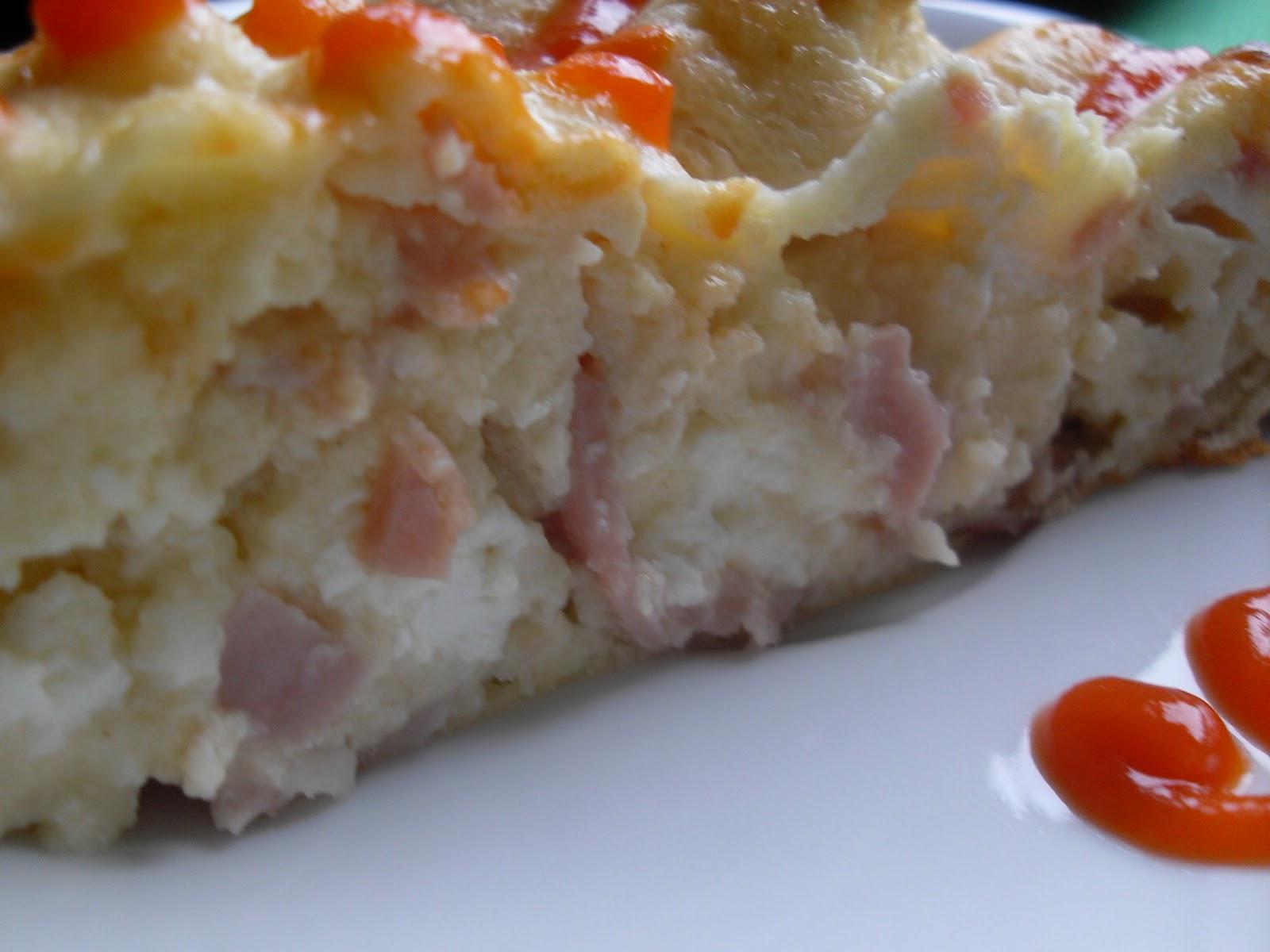 Pastel de queso y jam n york thermomix - Comidas para cenar rapidas ...