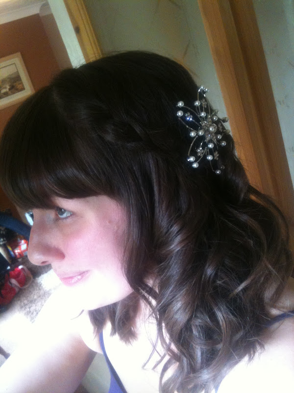 Egypt Mill Nailsworth Wedding hair styling title=
