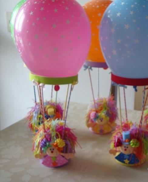 Enfeite De Balão ~ Mylle Mimos Centro de mesa Bal u00e3o