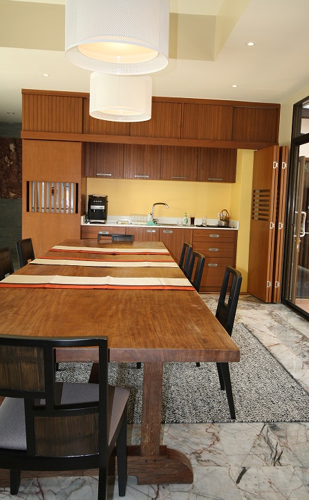 Kitchen Design : One Plank Of 36 M Long Solid Wood