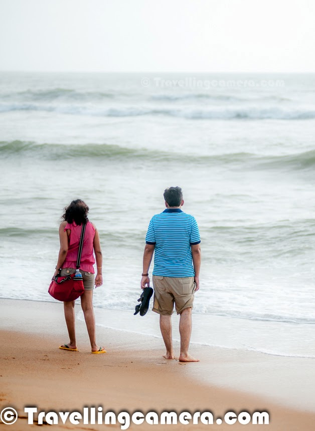 ... visit to a beautiful Beach around Panjim -- Miramar Beach, Goa, INDIA