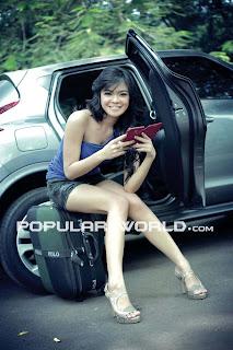 Tiara Sakti for Popular World Magazine, August 2012