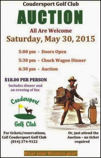 5-30 Coudersport Golf Club Auction