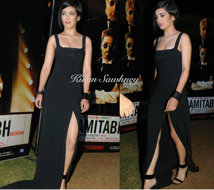 Akshara Haasan at music launch of Shamitabh