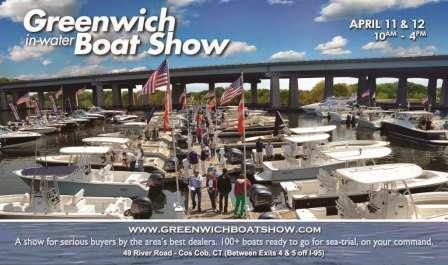 Greenwich Boat Show, a unique in-water experience, April 11-12,2015