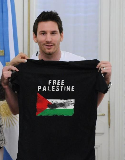 Anyone here from the old days? - Page 2 Messi+Free+Palestine