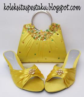 Handmade Tas Pesta dan Sepatu Pesta cantik Harga Terjangkau Murah