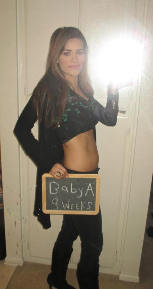 Tessa Rayanne 9 Weeks Pregnancy Update