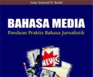 buku bahasa jurnalistik - bahasa media