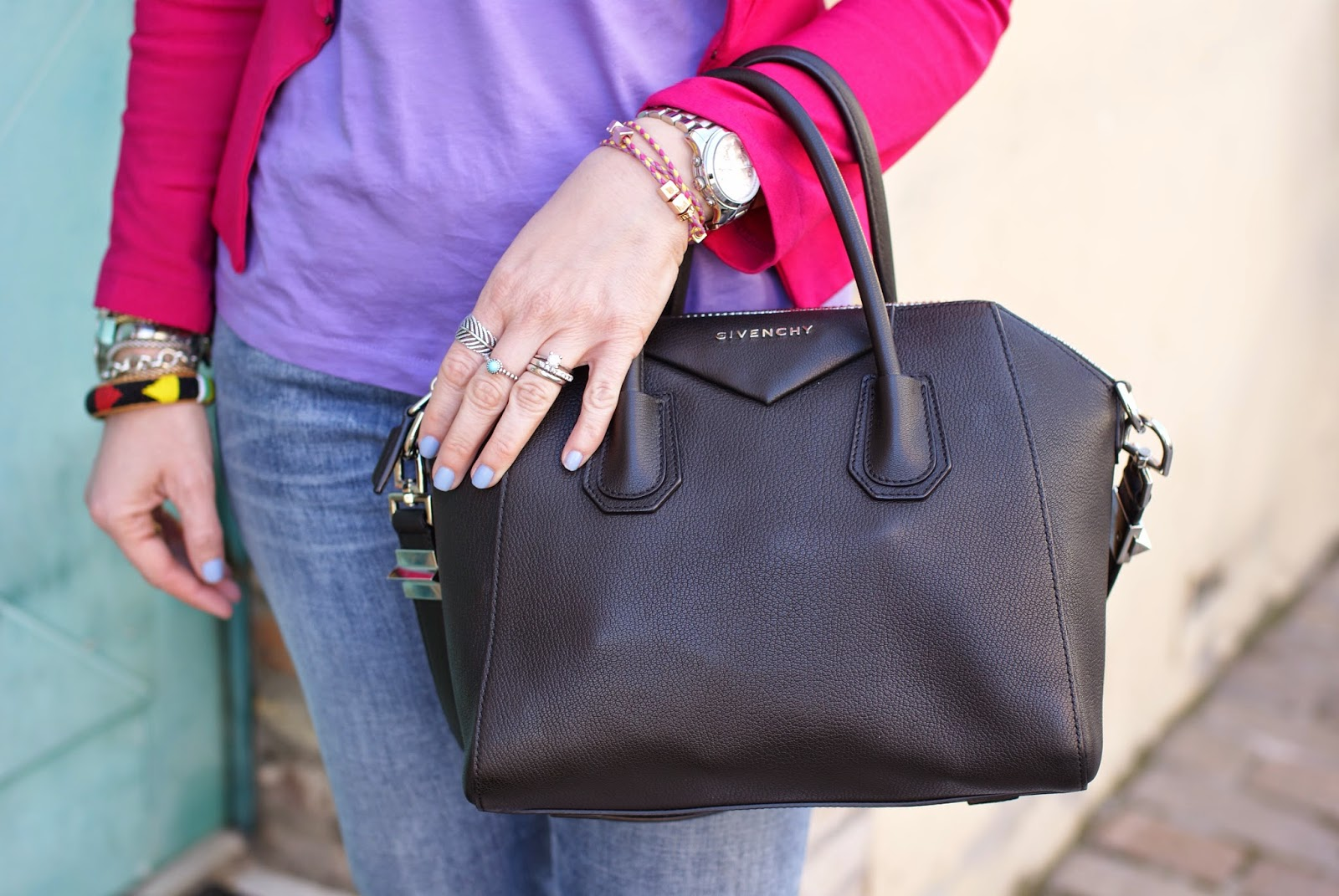 Givenchy Antigona bag, small Antigona black, Fashion and Cookies, fashion blogger