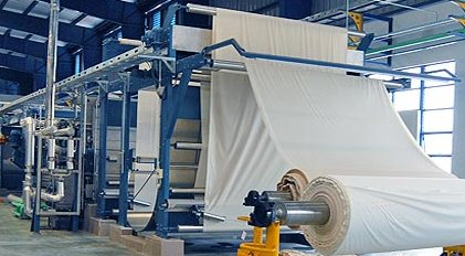 OBA on textile material