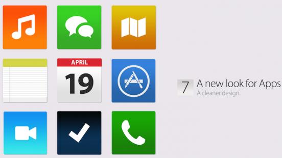 Apple renews and simplifies iOS 7