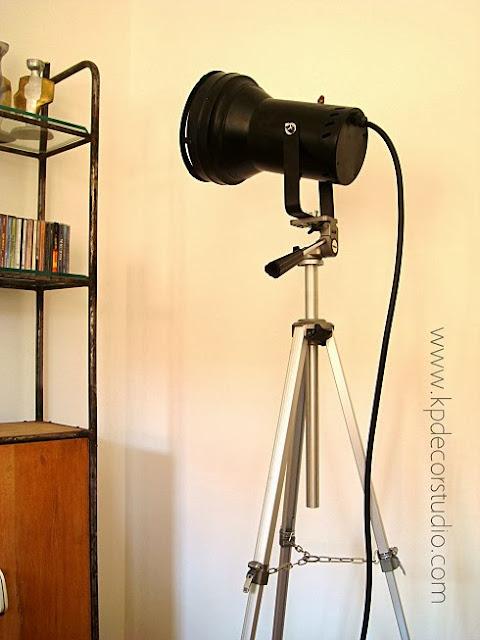 Lámparas de pie originales, venta de focos estilo industrial. Focos vintage como lámparas de pie
