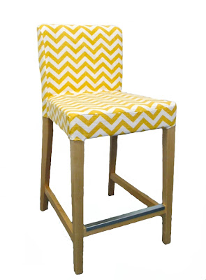 IKEA Henriksdal bar stool covers added  sc 1 st  Knesting IKEA Inspiration - blogger & Knesting IKEA Inspiration: IKEA Henriksdal bar stool covers added islam-shia.org