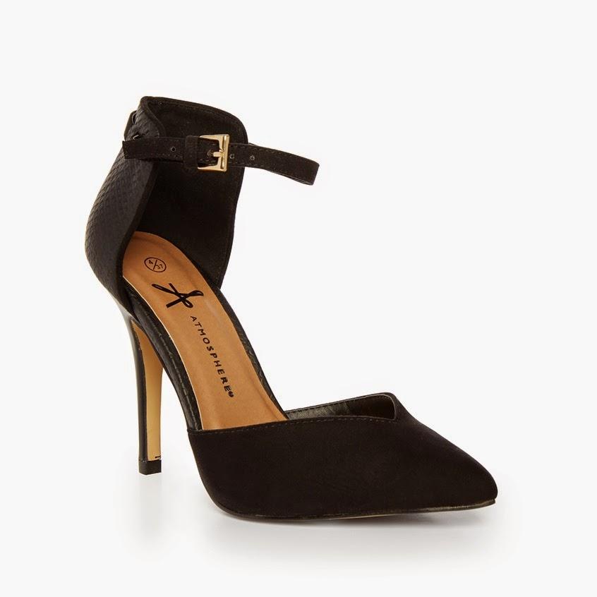 fotos de zapatos de tacón - fotos zapatos | Zapatos de tacon de color negro para invierno Prada Vogue
