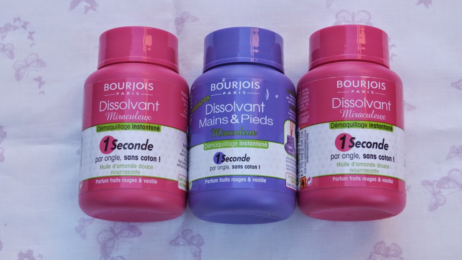 Bourjois Nail Polish Removers
