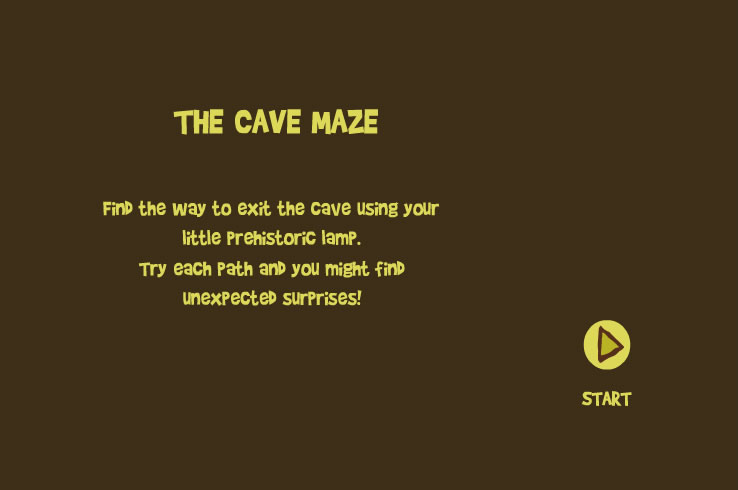 TOP : 36 Kids Game : Cave Maze