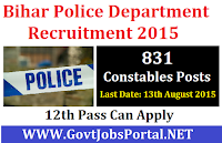 Bihar Police Recruitment 2015