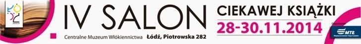 IV Salon Ciekawej Książki w Łodzi