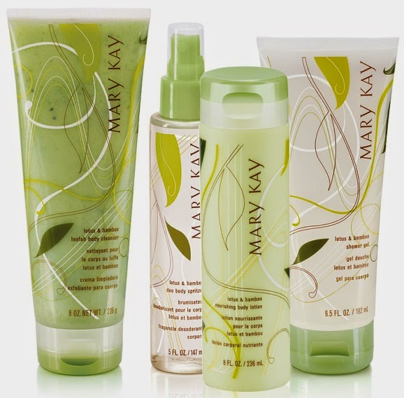 Bamboo Body Pampering Collection